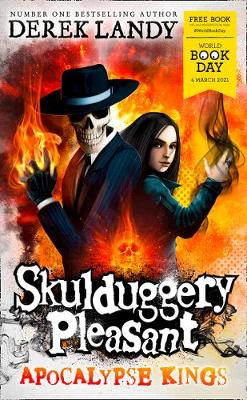 Cover of Apocalypse Kings (Skulduggery Pleasant) - World Book Day