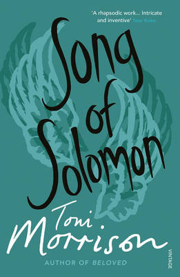 Cover of THE SONG OF SOLOMON: A NOVEL