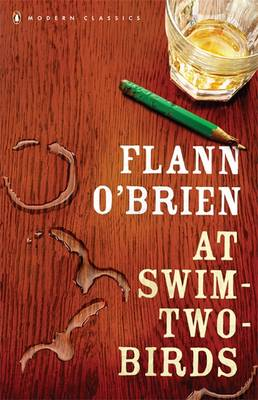 Cover of At Swim-two-birds - Flann O'Brien - 9780141182681