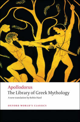 Cover of The Library of Greek Mythology