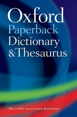 Cover of Oxford Paperback Dictionary And Thesaurus - Oxford - 9780199558469