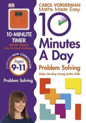 Cover of 10 Minutes a Day Problem Solving KS2 Ages 9-11