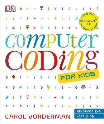 Cover of Computer Coding for Kids - Carol Vorderman - 9780241317730