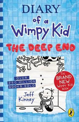 Cover of Diary of a Wimpy Kid: The Deep End (Book 15) - Jeff Kinney - 9780241396643