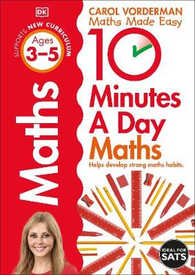 Cover of 10 Minutes a Day Maths Ages 3-5: Helps develop strong maths habits