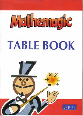 Cover of Mathemagic Table Book