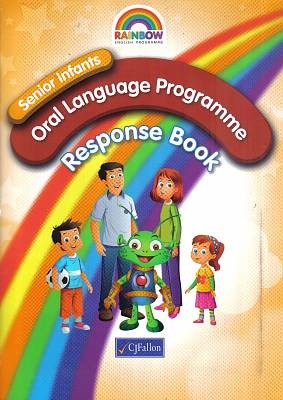 Cover of Rainbow Series Oral Language Senior Infants Response Book Stage 1