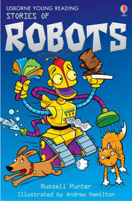 Cover of Usborne Young Reading Series 1: Stories of Robots