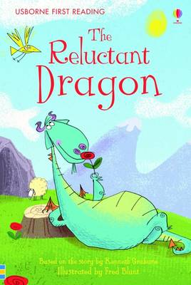 Cover of Usborne First Reading Level 4: The Reluctant Dragon