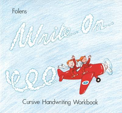 Cover of Write On 3rd-4th Class Cursive Book 2