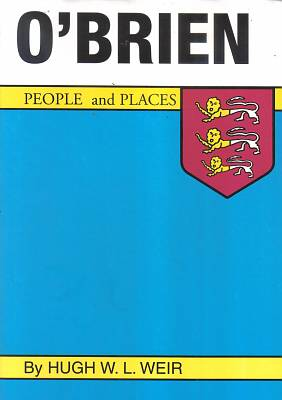 Cover of O'Brien : People And Places - Hugh W. L. Weir - 9780946538423