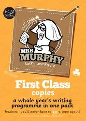 Cover of Mrs Murphy's Copies: First Class - Breda Murphy - 9780993529535