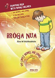 Cover of Broga Nua - Enjoying Irish With Young Children