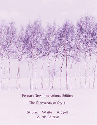 Cover of The Elements of Style - 4th revised edition - Strunk, William, Jr. - 9781292026640