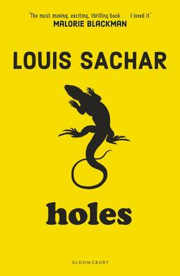 Cover of Holes - Louis Sachar - 9781408865231