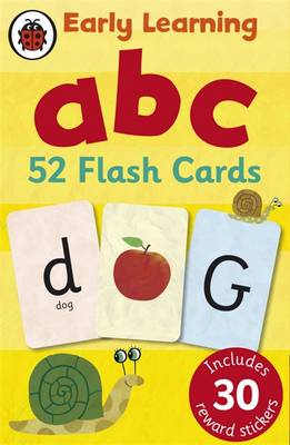 Cover of Early Learning ABC Flash Cards - Ladybird - 9781409302742