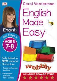 Cover of English Made Easy Ages 7-8 Key Stage 2: Ages 7-8, Key stage 2