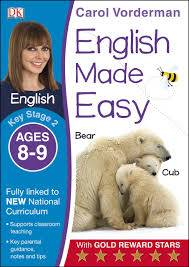 Cover of English Made Easy Ages 8-9 Key Stage 2: Ages 8-9, Key stage 2