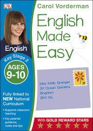 Cover of English Made Easy Ages 9-10 Key Stage 2