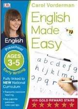 Cover of English Made Easy Early Writing Preschool Ages 3-5: Ages 3-5 preschool
