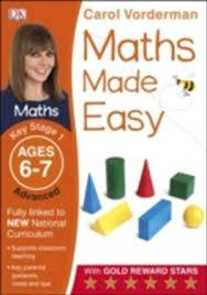 Cover of Maths Made Easy Ages 6-7 Key Stage 1 Advanced: Ages 6-7, Key Stage 1 advanced