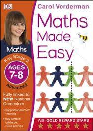 Cover of Maths Made Easy Ages 7-8 Key Stage 2 Advanced: Ages 7-8, Key Stage 2 advanced