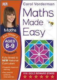 Cover of Maths Made Easy Ages 8-9 Key Stage 2 Advanced: Ages 8-9, Key Stage 2 advanced