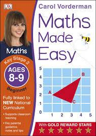 Cover of Maths Made Easy Ages 8-9 Key Stage 2 Beginner: Ages 8-9, Key Stage 2 beginner