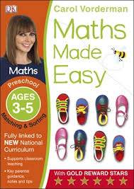 Cover of Maths Made Easy Matching And Sorting Preschool Ages 3-5: Preschool ages 3-5