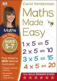 Cover of Maths Made Easy Times Tables Ages 5-7 Key Stage 1