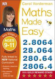 Cover of Maths Made Easy Decimals Ages 9-11 Key Stage 2: Ages 9-10, Key Stage 2
