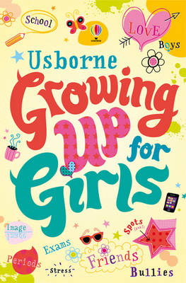 Cover of Girl's Growing up Book