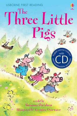 Cover of Usborne First Reading Level 3: Three Little Pigs