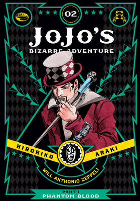 Cover of Jojo's Bizarre Adventure Part 1: Phantom Blood Volume 2 - Horihiko Araki - 9781421578804
