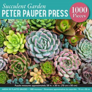 Cover of Succulent Garden  - 1000 Piece Jigsaw Puzzle