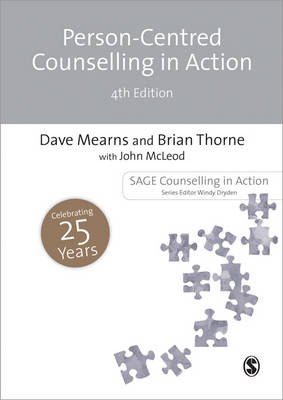 Cover of Person-Centred Counselling in Action 4th edition - Dave Mearns - 9781446252536