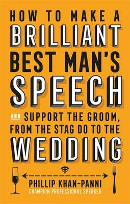 Cover of How to Make a Brilliant Best Man's Speech