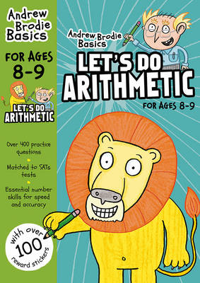 Cover of Let's do Arithmetic 8-9
