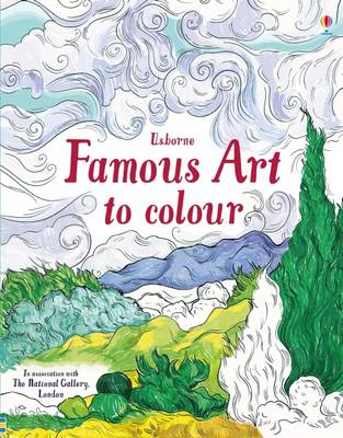 Cover of Famous Art to Colour