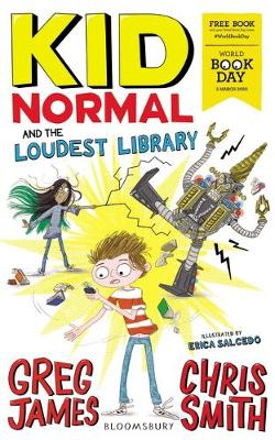 Cover of Kid Normal and the Loudest Library: World Book Day 2020