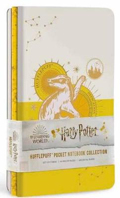 Cover of Hufflepuff Constellation  Notebook: Set of 3 - Insight Editions - 9781647220891