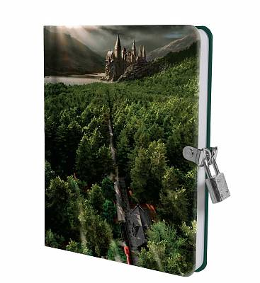 Cover of Harry Potter: Hogwarts Express Lock and Key Diary - Insight Editions - 9781647222802