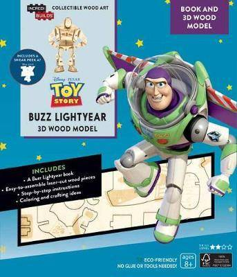 Cover of IncrediBuilds: Toy Story: Buzz Lightyear Book and 3D Wood Model