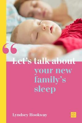 Cover of Let's talk about your new family's sleep
