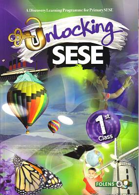 Cover of Unlocking SESE 1st Class - Simon Lewis Rozz Lewis - 9781780902982