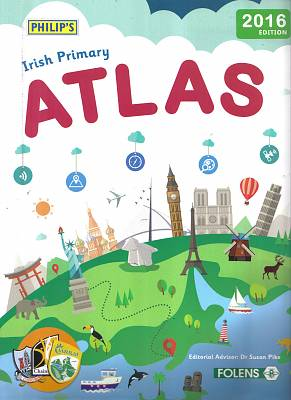 Cover of Philip's Primary Atlas 2016 Edition - Textbook ONLY