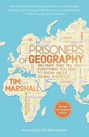 Cover of Prisoners of Geography - Tim Marshall - 9781783962433