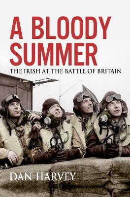 Cover of A Bloody Summer: The Irish at the Battle of Britain - Dan Harvey - 9781785373251
