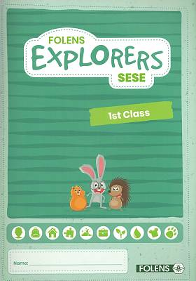 Cover of Explorers 1st Class Pupil Book