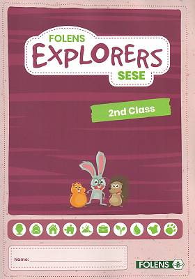 Cover of Explorers 2nd Class Pupil Book